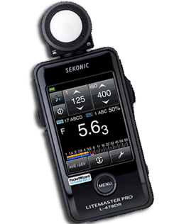 L-1 first Sekonic light meter